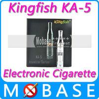 Kingfish KA-5 Best E Cigarette E-cig Cigarro for Dry Herb Vaporizer KA-5 Atomizer Kit For Wax Herb Vaporizer Stainless Color