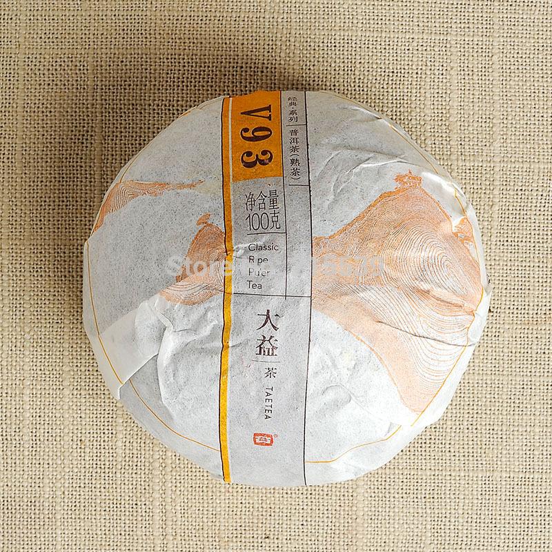 GRANDNESS DO PROMOTION V93 2014 yr 1401 MengHai Tea Factory Dayi TAETEA Premium Ripe Shu