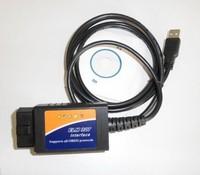 New OBD2/OBDII Scanner ELM327 USB Interface ELM 327 USB Car Scanner Code Reader