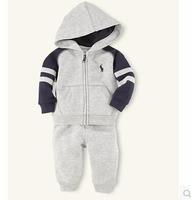 2014 new autumn children's clothing suits boy's sweatshirts + trousers fashion hoodies + kids pants kids clothes suits