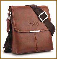 HOT SOLD High Quality men messenger bag ,fashion pu leather men's shoulder bag ,casual briefcase brand name bags