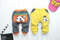 kid children baby panda winter trousers 4pcs/lot Children's leisure casual pants 2014 KP013