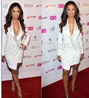 new 2014 hot summer popular women black white blazer dresses sexy cute sweet mini dress OM140