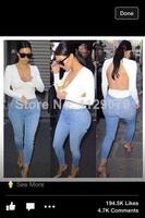 HOT 2014 women summer V-neck white kim kardashian backless open back all-match solid casual spirals t shirt blouse top OM131