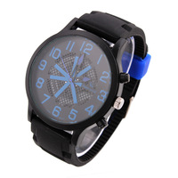 Casual Men Wristwatches V6 Analog Alloy Case Quartz Watch Sports Watches Stainless Steel Glass 2014 New Promotion