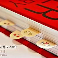 cute kawaii mini diy paper finger it stickers bookmark stick scrapbooking memo pads sticky notes school supplies wholesale