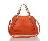 Brand Name bag 100% Genuine LEATHER Bags Fashion handbag CL Shoulder Bag women famous brands TOTE bag 2014 Free Shipping