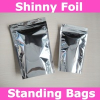 Free shipping,16x24+4cm (6.3''X9.4''+1.6'') bottom gusset zip lock bags,food storage bags