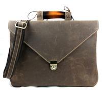 men's briefcase laptop bags vintage messenger bag cowhide genuine Crazy horse leather