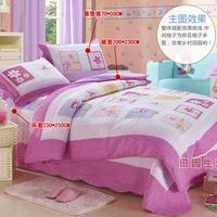 Wholesale and Retail 100% Cotton Patchwork 3-piece Bedding Set 230x250cm Plaid Bedspread/Quilt With 2 Pillow Cases