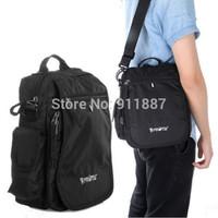 Vintage Men's Shoulder Bag Casual Sport Men Messenger Bags Travel Briefcase Satchel PROTW Black