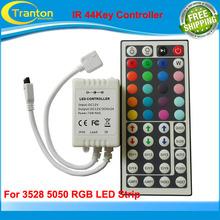 12V 44 Keys IR Remote Controller + Receiver for SMD 3528 5050 RGB LED Strip Light(China (Mainland))