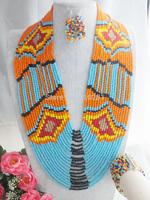 Free ship! Beauty Women multicolors Crystal jewelry set LK-2369