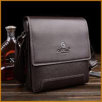 High Quality 2014 new men leather messenger bag men's shoulder bag business formal briefcase for men free shipping