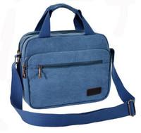 Pockets Messenger Bag Men's Vintage Canvas School Military Shoulder Bag Retro Style For Man  Z934