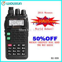 wouxun handheld walkie talkie 10km radio KG-UV899(136-174/400-520MHZ)