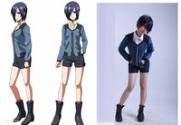 New high quatliy Tokyo ghouls Kirishima Toka Jacket Cosplay Costume suit