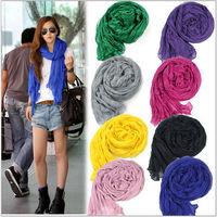 2014 fashion Totem female cotton scarf shawl clothing Wholesale Wrap Pashmina 170-180cm Top Selling Free Shipping