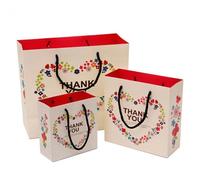 XSD 1-005A  DHL/EMS  Free Shipping  30.5*27*12cm  Thanksgiving wedding gift paper bag shopping apparel love bag customize allowe