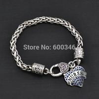 2014  New design Nurse heart crytal pendant bracelet gift jewelry top sale