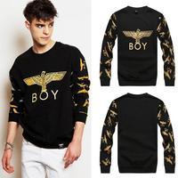 2014spring winter Versa Hip-hop men women's golden eagle London boy 3d print pullovers GIV Brand Galaxy Sweatshirts Hoodies Tops
