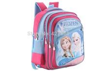frozen backpack new season school bag for girls 2014 hot sale backpack school  high quality
