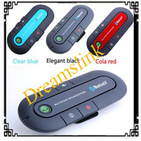2014 New Wireless Bluetooth 3.0 + EDR Hands free Speaker phone Car Kit With Car Charger