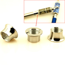 2Pcs/lot Electronic Cigarette Accessories Stainless steel Tone Adapter Rings Connection Parts for Ego-Series Atomizer