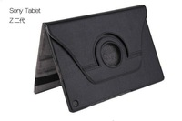 1pcs 360 Degree Rotary Leather Case For Sony Xperia Z2 Tablet Free Shipping