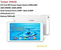 """Teclast P90HD WiFi Tablet PC 8.9"""" IPS Retina Screen RK3288 A17 Quad Core 1.8GHz Android 4.4 2GB RAM+16GB ROM Bluetooth OTG"""
