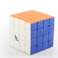 Cyclone Boys Stickerless 4x4 Magic Cube 4x4x4 Speed cube No Stickers Twist Puzzle Educational Toy Children Gift Toys