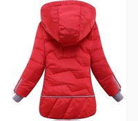 free shipping 2014 brand Girls down coat  down jacket winter children outerwear coats jacket  Down  Parkas for  girls