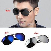 2014 Men Sunglasses Polarized Lens Aviator Driving Sun Glasses Male Fishing Outdoor Sports Eyewears