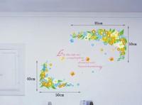 Removable vinyl wall sticker for kids rooms home decor decals adesivos de parede stickers vine
