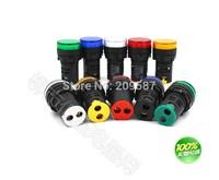 20pcs Mixed group of 12V 16mm LED Power Indicator Signal Light