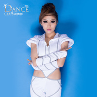 Luminous ds costume fashion jazz dance performance wear fashion personality female singer clothes