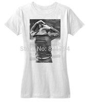 Alex Turner Quiff Comb T-Shirts 2014 New Women T-shirt 100% Cotton Customized Logo Free Shipping