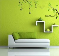 Korean TV background    wall stickers for sitting decorative kids mural wall paper