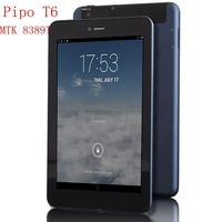 PipoT6 7 inch Tablet PC Android Tablet MTK8389T ARM Cortex-A7 Dual Core Dual camera 1+8G Tablets Wifi Bluetooth Dual SIM TF card