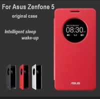 New Arrival ORIGINAL Flip Leather Case For Asus Zenfone 5 Intelligent Sleep/Wake-up Protective Window Case Cover Free Shipping