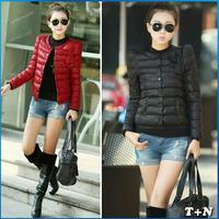 2014 NEW thick Winter Sports Jacket Women Fashion Slim coat Womens Cotton Jacket