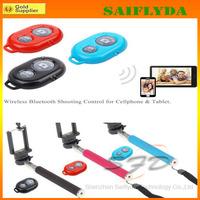 Free shiping Selfie Monopod+Bluetooth Camera Shutter Self-timer Remote Control Handheld