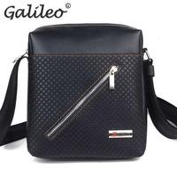 2014 fashion PU leather man messenger bag high quality man formal bag lowest price men business shoulder bag free shipping