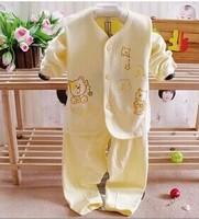 hot selling new Cartoon bear children's clothing sets,cartoon girls pajama sets,0-1 age toddler baby kids pijama sleepwear suit,