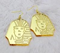 Fashion  nightclub exaggerated personality earrings Hip hop jewelry  pharaoh earrings JYER--00805