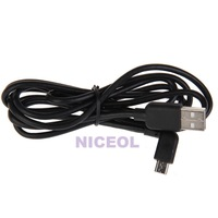 NI5L Left Angled 90 Degree Micro USB Male to USB Data Charge Cable for Cellphone