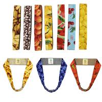 Vintage fashion oh honey cotton cloth self-restraint fruit and vegetable fruit food elastic hair band