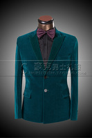 New Mens Casual Groom Costume Wedding Suits 2014 Shiny Men's Custom Made Slim Fit Dress Suits Blazers Jacket Pants Plus Size