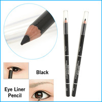 2 PCS Waterproof Liquid Eye Liner Black Eyeliner Pencil Makeup Pen