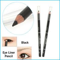 2 PCS Waterproof Liquid Eye Liner Black Eyeliner Pencil Makeup Pen